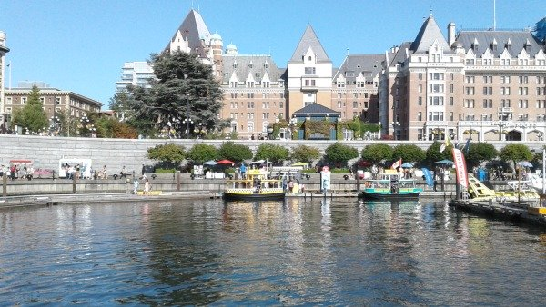 Victoria Inner Harbour, a beautiful place on Vancouver Island