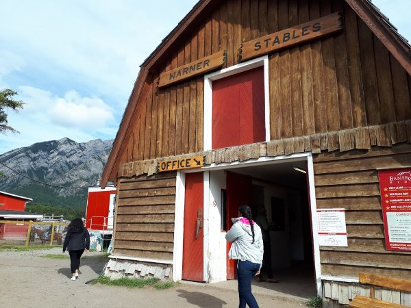 Office Stables at Banff Trail Riders
